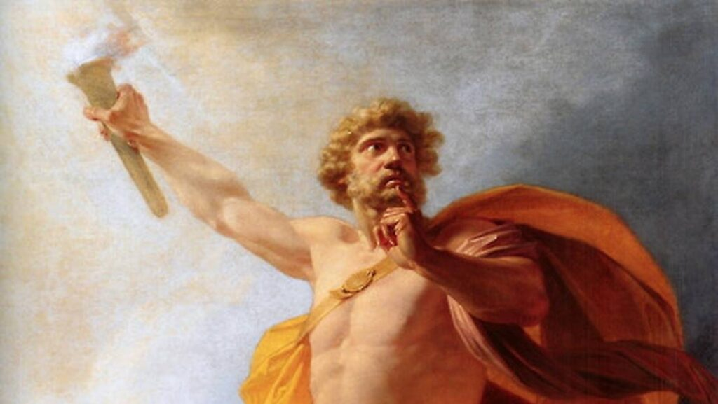 Why did Prometheus steal fire